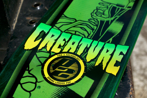 """KIMBEL SKATE DECK"" creature skateboards"