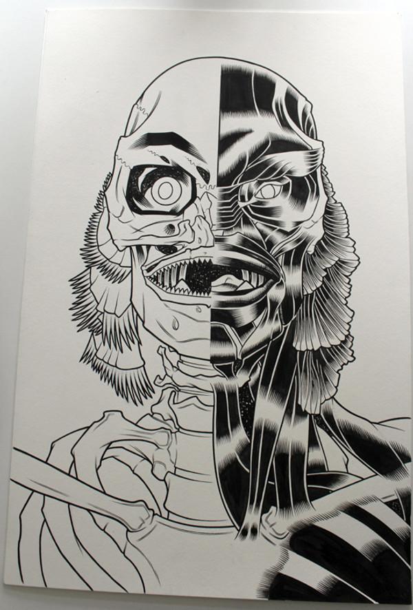 CREATURE ORIGINAL ART