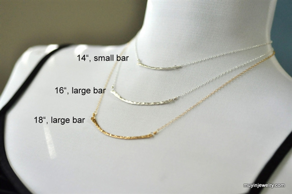 BRIDGE necklace (large)