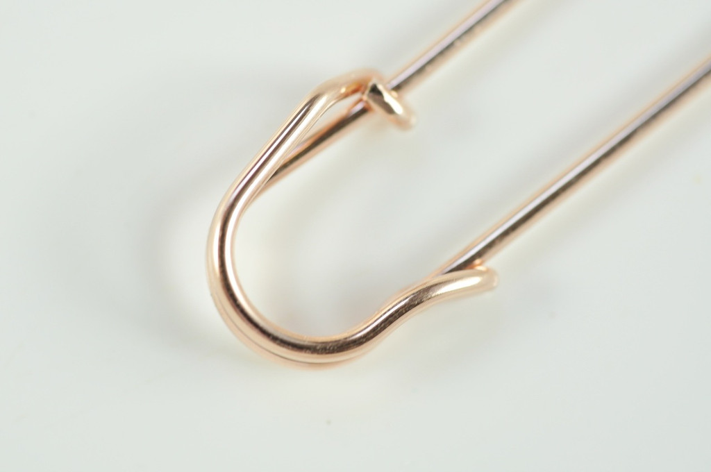 medium large 2 inch SAFETY PIN shawl pin, sweater pin, scarf pin