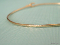 ADD-A-CHARM skinny textured bangle