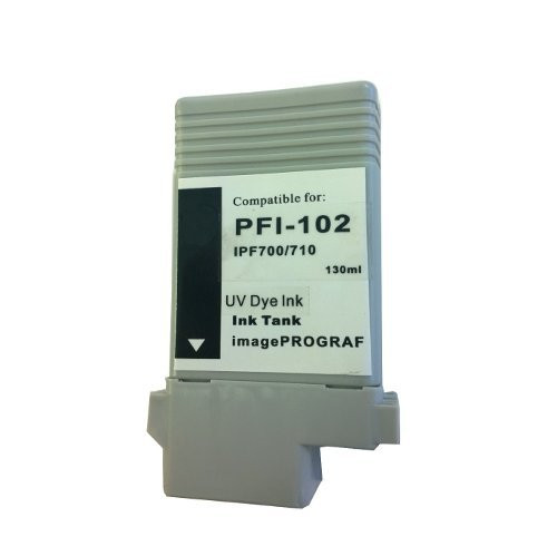 PFI-102 Black UV Dye Compatible Cartridge
