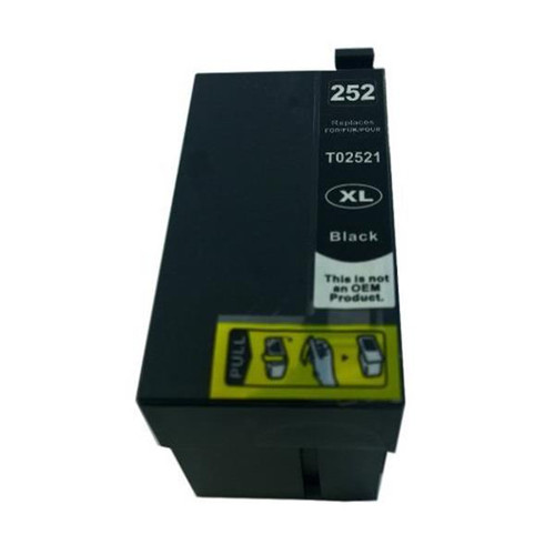 252XL Black Premium Compatible Inkjet Cartridge