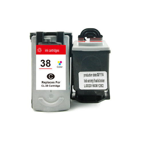 CL-38 Remanufactured Colour  Inkjet Cartridge