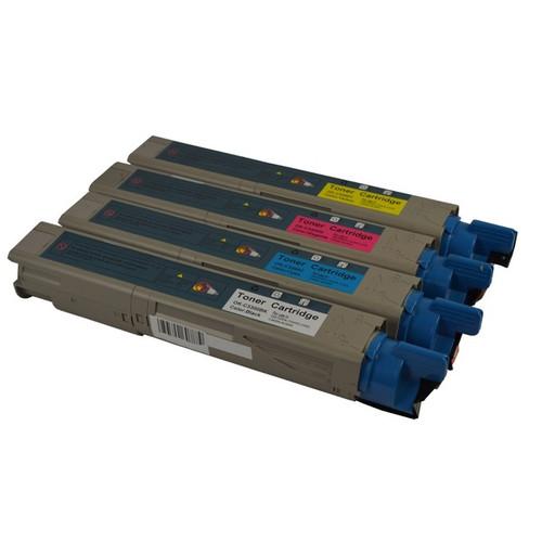 C3100 3200 3300 Premium Generic Toner Set