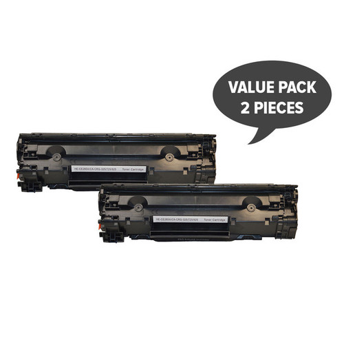 CE285A #85A Cart325 Black Generic Toner  (Set of 2)