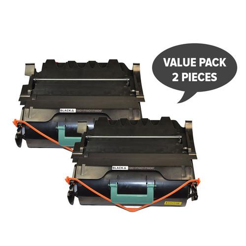T650 Premium Generic Toner Cartridge x 2