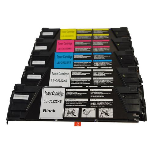 C5220 Series Generic Toner Set PLUS Extra Black