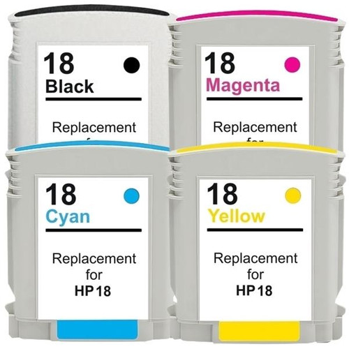 18XL Compatible Inkjet Cartridge Set  4 Cartridges