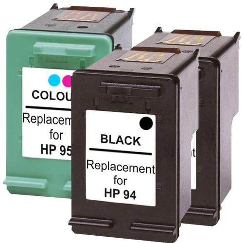 #94 Remanufactured Inkjet Cartridge Set #2  3 Cartridges