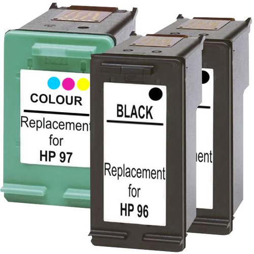 #96 Compatible Inkjet Cartridge Set #2  3 Cartridges