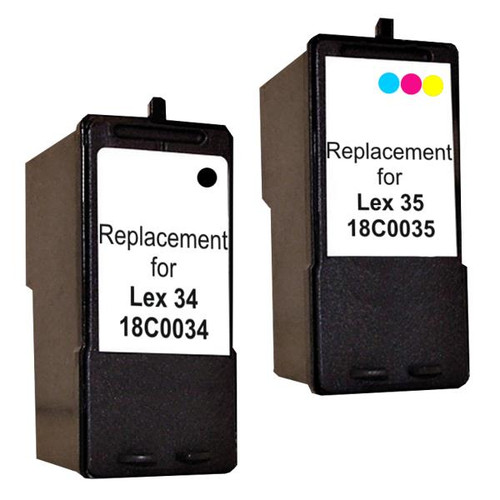 18C0034 no.34 Compatible Inkjet Cartridge Set #1  2 Cartridges