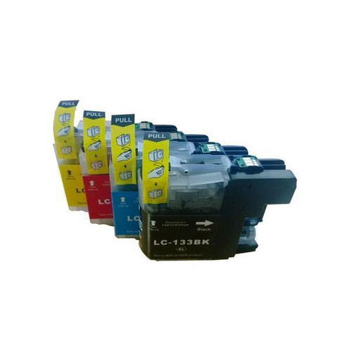 LC133 Compatible Inkjet Cartridge Set  4 Ink Cartridges [Boxed Set]