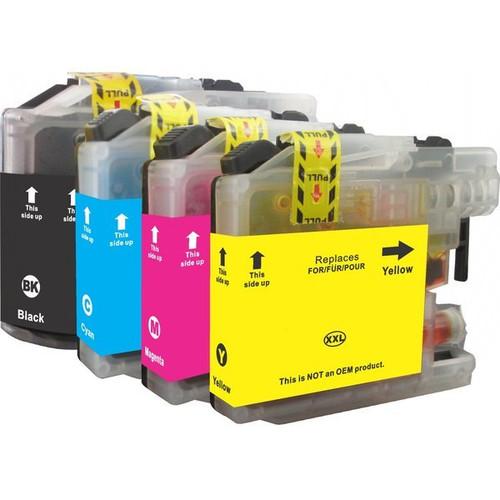 LC137 LC135 Compatible Inkjet Cartridge Set  4 Ink Cartridges [Boxed Set]