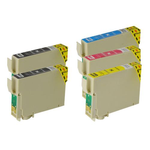 73N Compatible Inkjet Cartridge Set  5 Ink Cartridges [Boxed Set]