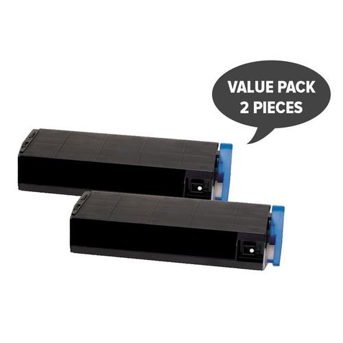 2 x CT201114 C1110 Black Premium Generic Toner-SET2XE1110