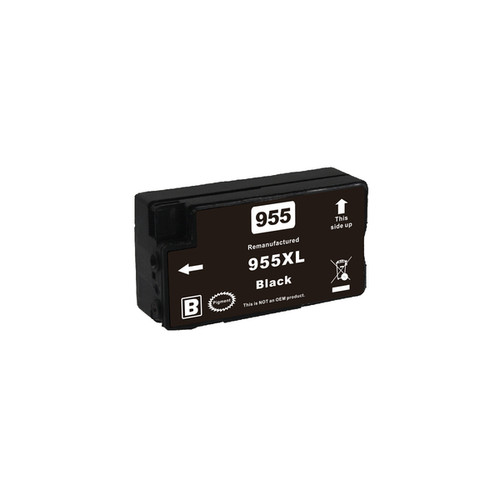 955XL Black Premium Remanufactured Inkjet Cartridge