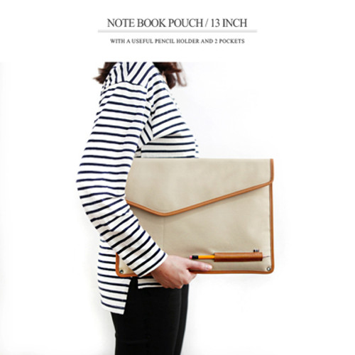THE BASIC Canvas Note Book Pouch
