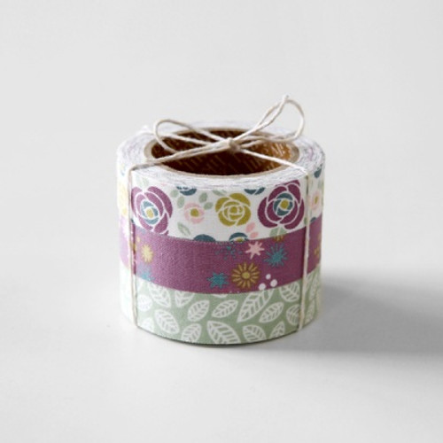 Fabric Tape Set- Camellia