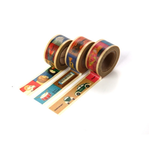 Masking Tape MT For Kids-Yellow