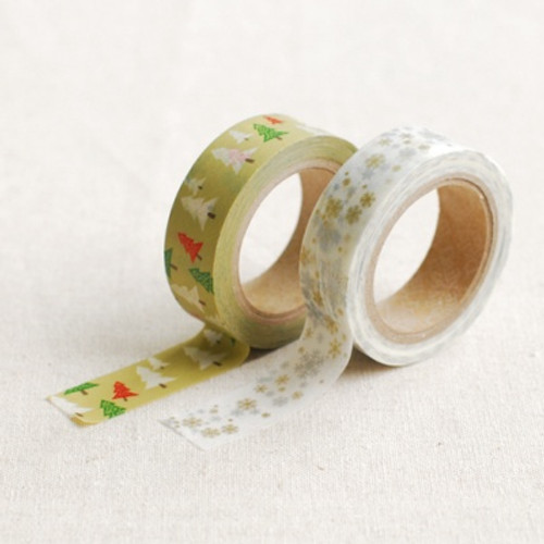 Masking Tape-WINTER GREEN