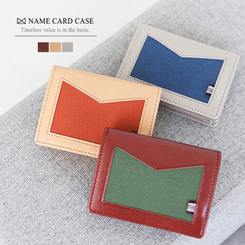 Basic M Business Card Case