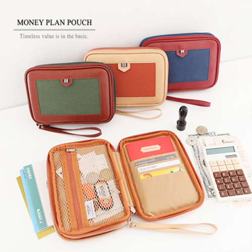 The Basic M Money Plan Pouch