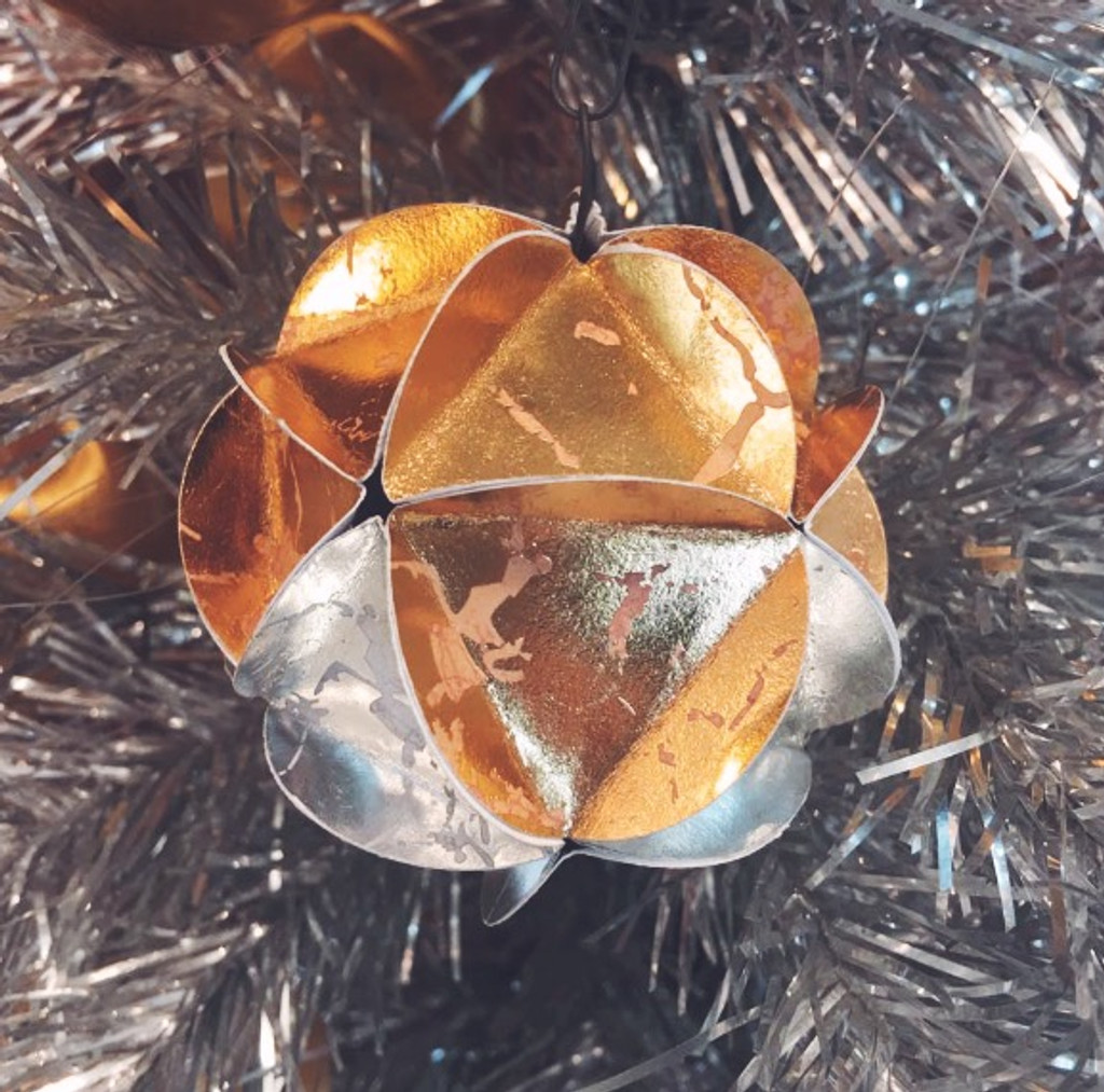 DIY Series: Geodesic Paper Ornament