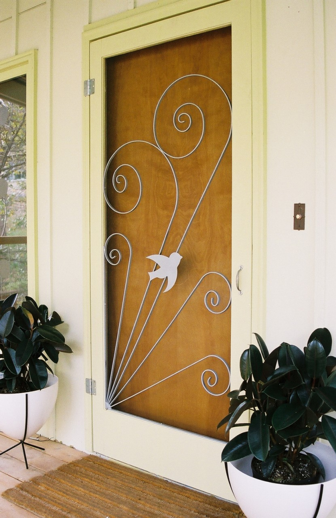 Delicieux Vintage Style Screen Door Insert