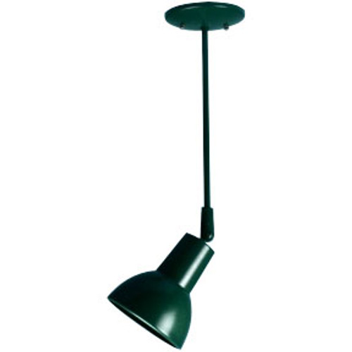 Bell-shade Ceiling Fixture on Stem