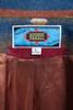 blanket jacket blazer top coat Aztec red blue beige vintage 90s LARGE - EXTRA LARGE L XL