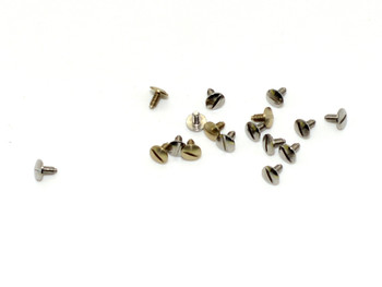 SM076 Hinge Repair Screw; 1.4mm, 3.5mm Head, 3.7mm Length (SM076)