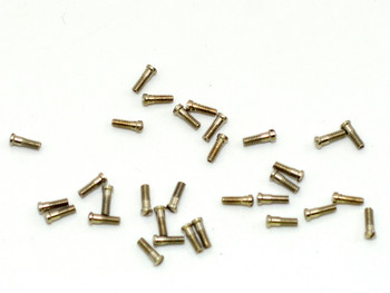 SM082 Eyewire Screw - Slotted; 1.4mm Thread, 1.8mm Head, 4.7mm Length (SM082)