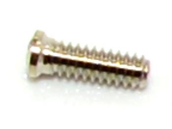 SM411 Eyewire Screw - Slotted; 1.6mm Thread, 2.0mm Head, 5.2mm Length