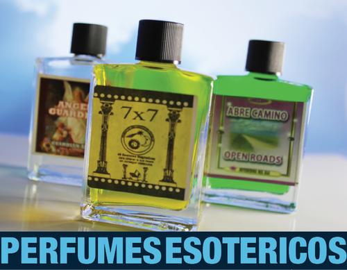 Perfumes Esotericos, Perfume 7x7, Perfume Abre Caminos, Perfume Angel De la Guarda, Perfumes Para la Suerte