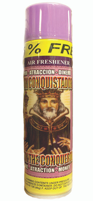 religious and esoteric air freshener o spray para limpias john conqueror