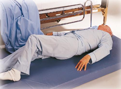 "Soft-Fall Bedside 24"" Folding Fall Mat, 4""H"