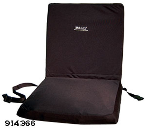 "Wheelchair 18"" Backrest Seat Combo w/X-Gel Seat Cushion"