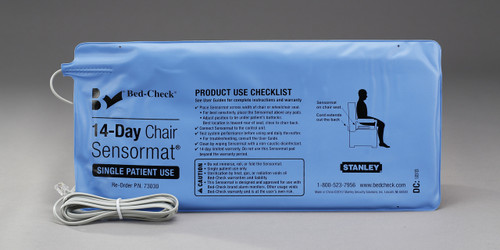 ST Chair Sensormats, 8' Cords, 14 Day