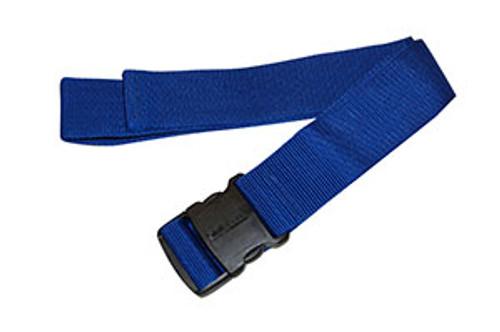 Econo Gait Belt, Blue w/Delrin Buckle, 24/Pk