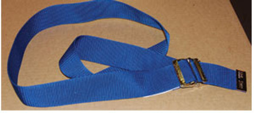 Econo Gait Belt, Blue w/Metal Buckle