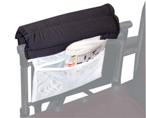 Two Wheelchair Padded Half Armrest w/Storage Pouch