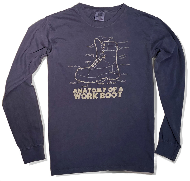 Anatomy of a Boot Long Sleeve