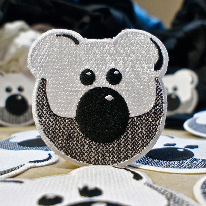 BEARDY BEAR PATCH