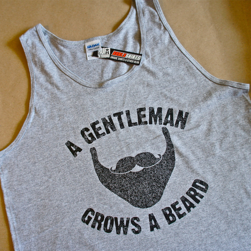 A Gentleman Grows a Beard Tank