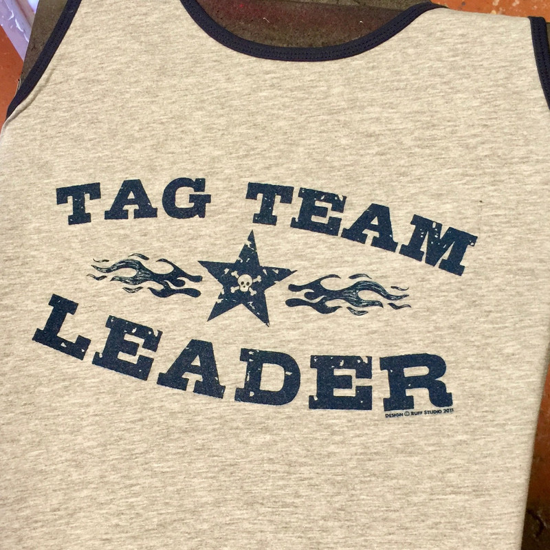 TAG TEAM LEADER RINGER TANK gry