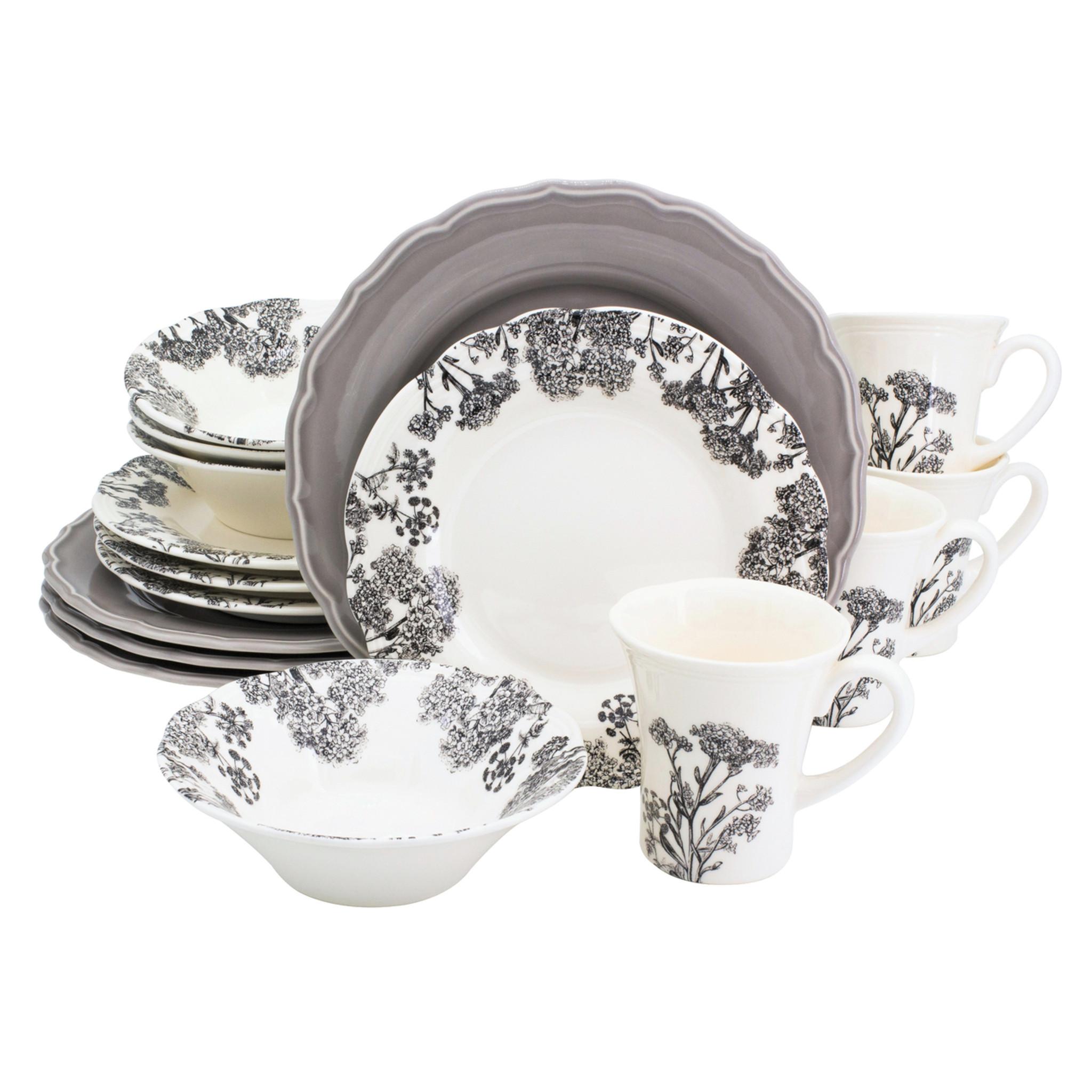 Savannah 16 Piece Dinnerware Set Service for 4  sc 1 st  Euro Ceramica & Savannah 16 Piece Dinnerware Set Service for 4 - Euro Ceramica