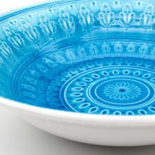 Fez Crackle-Glaze Serving Bowl