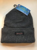 Ladies / Men Unisex Beanie Thermal Fleece Liner With Cuff Gray
