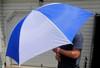 "Golf Double-Rib 60"" Umbrellas (Opens up to Enormous 60"" umbrella)"